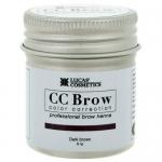 Фото CC Brow Dark Brown - Хна для бровей в баночке (темно-коричневый), 5 г