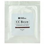 Фото CC Brow Grey Brown - Хна для бровей в саше (серо-коричневый), 5 г