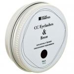Фото CC Brow Cc Eyelashes&Brow - Хна для окрашивания ресниц и бровей в баночке (черная), 10 г