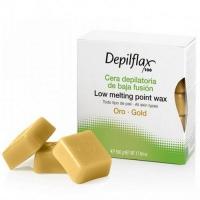Depilflax - Воск Золотой для сухой кожи, 500 г