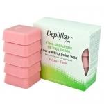 Фото Depilflax - Воск Розовый для чувствительной кожи, 500 г