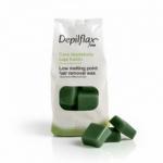 Фото Depilflax - Воск Зеленый с экстрактом морских водорослей для сухой кожи, 1000 г