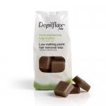 Фото Depilflax - Воск Шоколад для чувствительной кожи, 1000 г