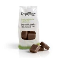 Depilflax - Воск Шоколад для чувствительной кожи, 1000 г
