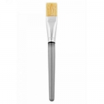 Фото LevisSime - Кисть для масок натуральная - прямая серая ручка