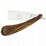 Фото Metzger Rosewood - Опасная бритва с коричневой рукоятью