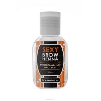 Sexy Brow Henna - Минеральный раствор для разведения хны