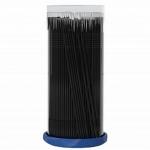 Фото Sexy Brow - Безворсовые микрощеточки для нанесения жидкостей и гелей, размер L (2 мм), черные, 100 шт