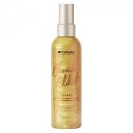 Фото Indola Professional Blond Addict Gold Shimmer Spray - Спрей для придания золотого блеска, 150 мл