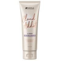 Indola Professional Blond Addict InstaCool Shampoo - Шампунь для холодных оттенков блонд, 250 мл