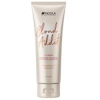 Indola Professional Blond Addict PinkRose - Оттеночный шампунь, 250 мл  - Купить
