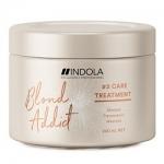 Фото Indola Professional Blond Addict Treatment - Маска для окрашенных и обесцвеченных волос, 200 мл