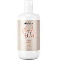 Indola Professional Blond Addict Treatment - Маска для окрашенных и обесцвеченных волос, 750 мл