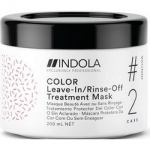 Фото Indola Professional Innova Color Leave-In Rinse-Off Treatment - Маска для окрашенных волос, 200 мл