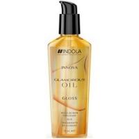 Indola Professional Innova Glamorous Oil Gloss - Несмываемая маска-масло, Сияние для волос, 75 мл