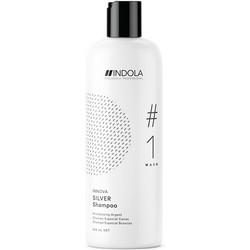 Фото Indola Professional Innova Silver Shampoo - Шампунь, придающий серебристый оттенок волосам, 300 мл