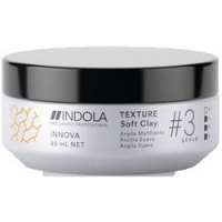 Indola Professional Innova Texture Soft Clay - Клей для волос, 85 мл
