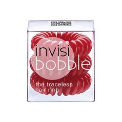 Invisibobble Raspberry Red - Резинка-браслет для волос (красная) 3 штуки