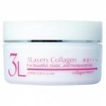 Фото Japan Gals 3Layers Collagen Cream - Крем увлажняющий с 3 слоями коллагена, 60 г