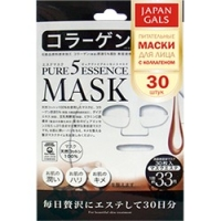 Japan Gals Pure 5 Essential - Питательные маски для лица с коллагеном, 30 шт.  - Купить