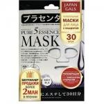 Фото Japan Gals Pure 5 Essential - Питательные маски для лица с плацентой, 30 шт.