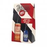 Фото Johnny's Chop Shop - Набор: Шампунь для бороды+Масло для ухода за бородой