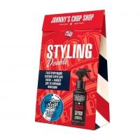 Johnny's Chop Shop - Набор: Файбер для стайлинга+Текстурирующий солевой спрей