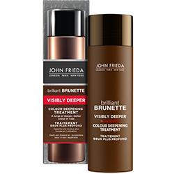 John Frieda Brilliant Brunette Visibly Deeper - Средство для создания насыщенного и глубокого цвета темных волос, 150 мл