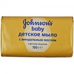 Фото Johnson & Johnson Johnsons baby - Мыло с миндальным маслом, 100 г