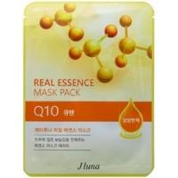 Купить Juno Real Essence Mask Pack Q10 - Маска тканевая с коэнзимом Q10, 25 мл