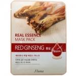 Фото Juno Real Essence Mask Pack Red Ginseng - Маска тканевая с красным женьшенем, 25 мл