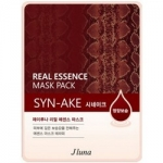 Фото Juno Real Essence Mask Pack Syn-Ake - Маска тканевая со змеиным ядом, 25 мл