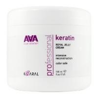 Kaaral AAA Keratin Royal Jelly Cream - Питательная маска для восстановления окрашенных волос, 500 мл