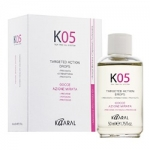 Kaaral К05 Targeted Action Drops - Лосьон против выпадения волос направленного действия, 50 мл