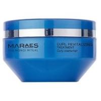 Kaaral Maraes Curl Revitalizing Treatment - Восстанавливающий кондиционер для вьющихся волос, 200 мл