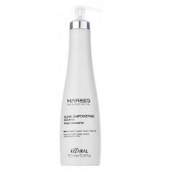 Фото Kaaral Maraes Sleek Empowering Shampoo - Восстанавливающий шампунь для прямых поврежденных волос, 300 мл