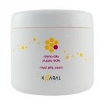 Фото Kaaral Royal Jelly Cream - Питательная крем-маска для волос с маточным молочком, 500 мл