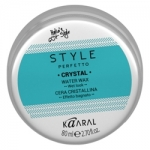 Фото Kaaral Style Perfetto Crystal Water Wax - Воск для волос с блеском, 80 мл