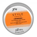 Фото Kaaral Style Perfetto Unfinished Texturizing Fiber Cream - Волокнистая паста для текстурирования волос, 80 мл