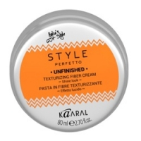 Kaaral Style Perfetto Unfinished Texturizing Fiber Cream - Волокнистая паста для текстурирования волос, 80 мл