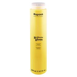 Kapous Brilliants gloss - Блеск-шампунь для волос 250 мл.