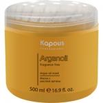 Фото Kapous Fragrance Free - Маска с маслом арганы, 500 мл