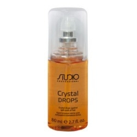 Kapous Studio Professional Crystal Drops - Жидкие кристаллы для секущихся кончиков волос, 80 мл.