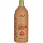 Фото Kativa Argan Oil Shampoo - Шампунь для волос увлажняющий с маслом арганы, 500 мл