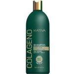 Фото Kativa Collageno Shampoo - Шампунь для волос восстанавливающий с коллагеном, 500 мл