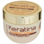 Фото Kativa Keratina - Маска для поврежденных и хрупких волос с кератином, 250 мл