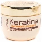 Фото Kativa Keratina - Маска для поврежденных и хрупких волос с кератином, 500 мл