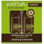 Kativa Mаcadamia - Набор интенсивного увлажнения для нормальных и поврежденных волос, 2х100 мл
