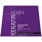 Фото Keen Keratin Anti Aging Serum - Сыворотка кератиновая для усталых волос, 7x10 мл