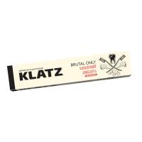 Зубная паста Klatz BRUTAL ONLY - Для мужчин Бешеный имбирь без фтора, 75мл